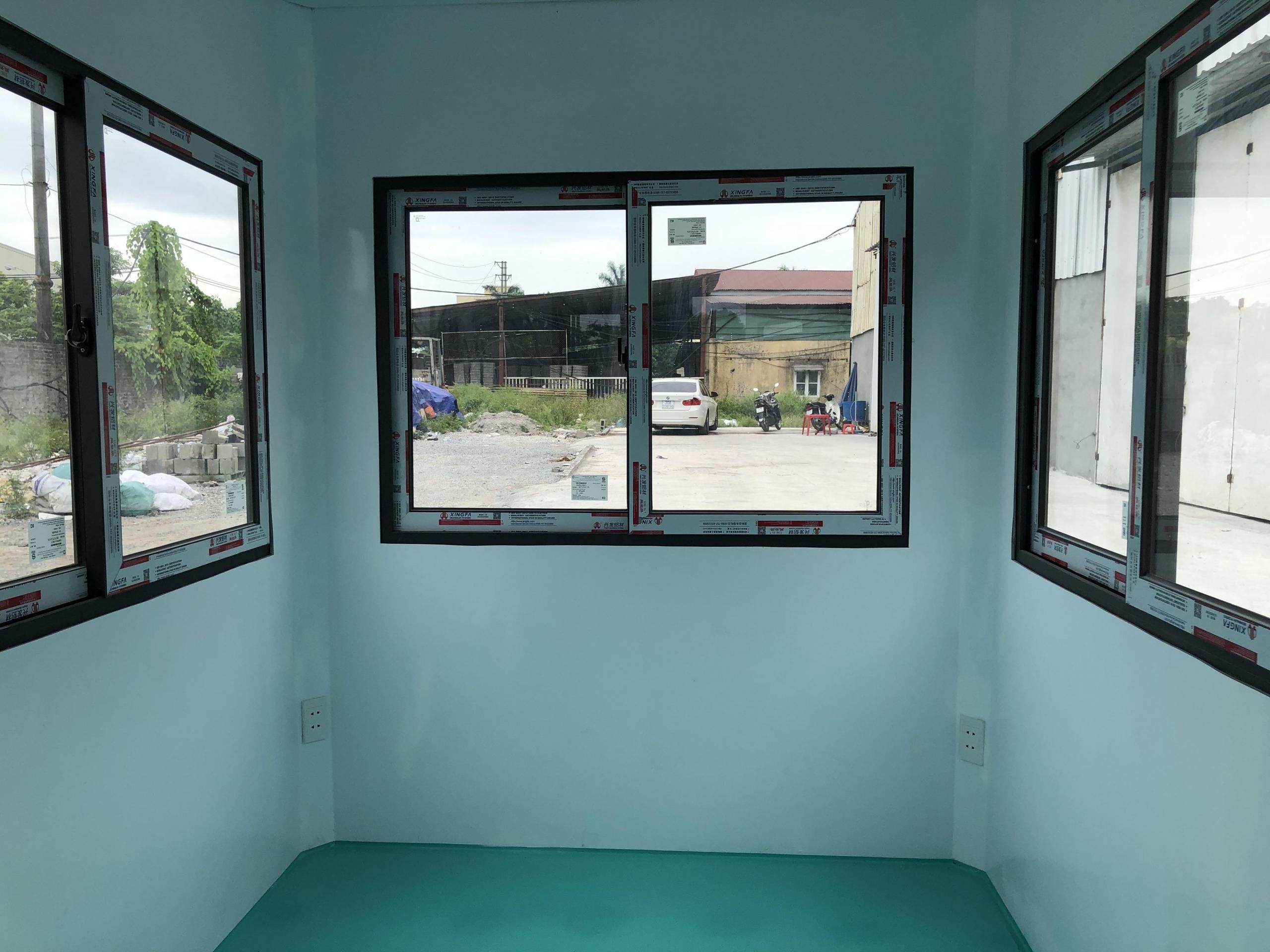 Nội thất nhà bảo vệ composite mái hộp