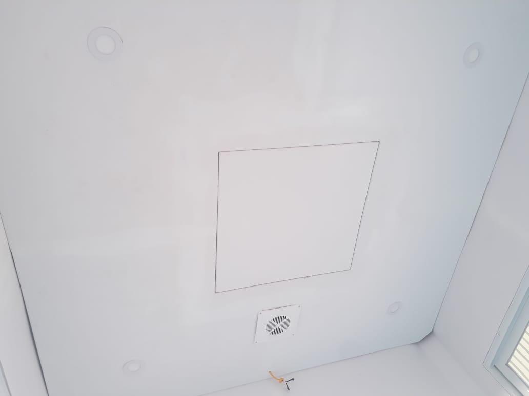 Trần composite lắp đèn dowlight