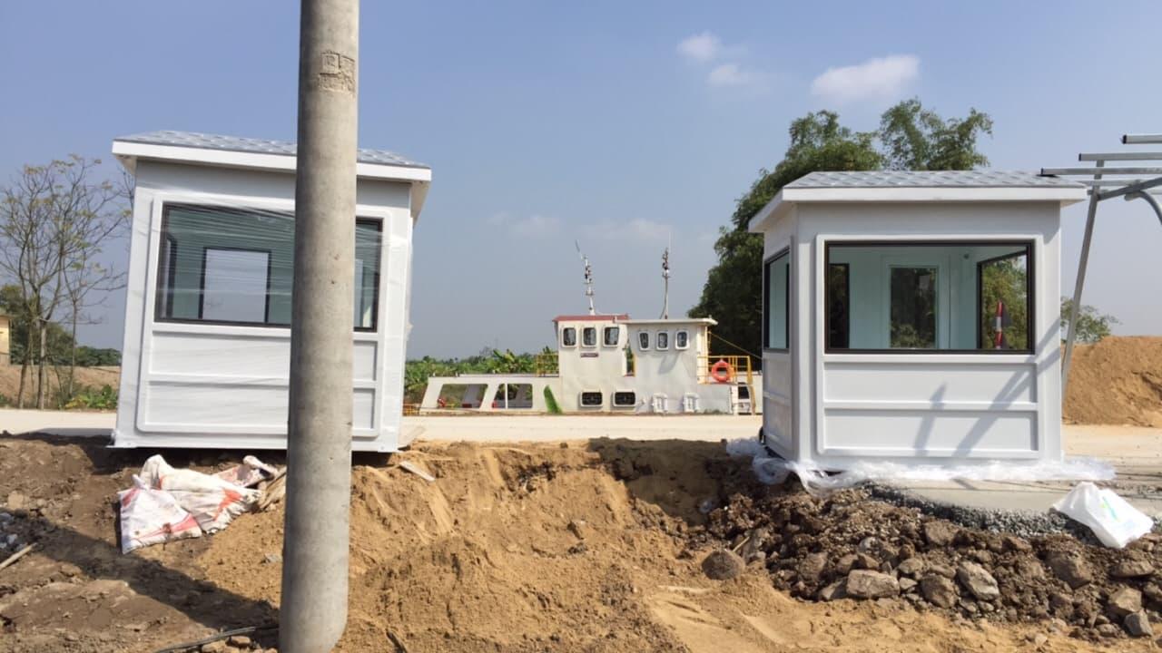 Chúng tôi cung cấp nhiều loại nhà di động để làm trạm thu phí hoặc bán vé