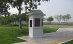Cabin bảo vệ lục giác lắp đặt tại công viên