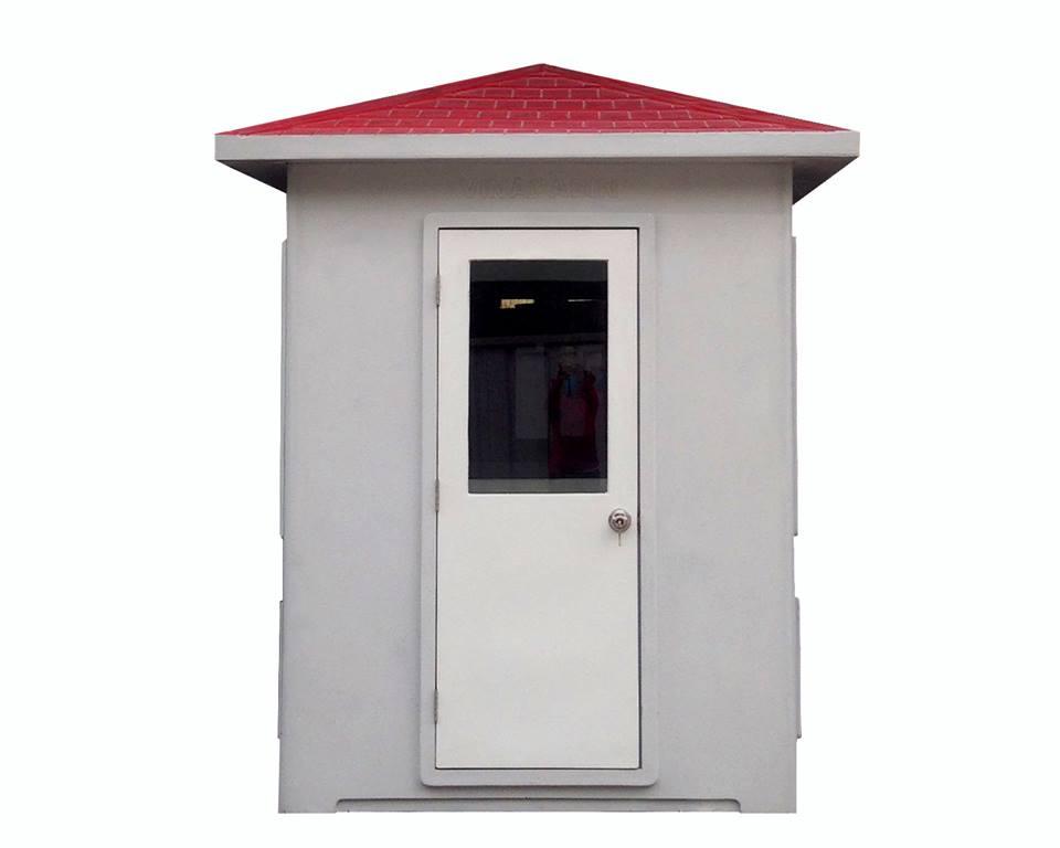 Mặt sau cabin bảo vệ 1.9x2.3m Vinacabin