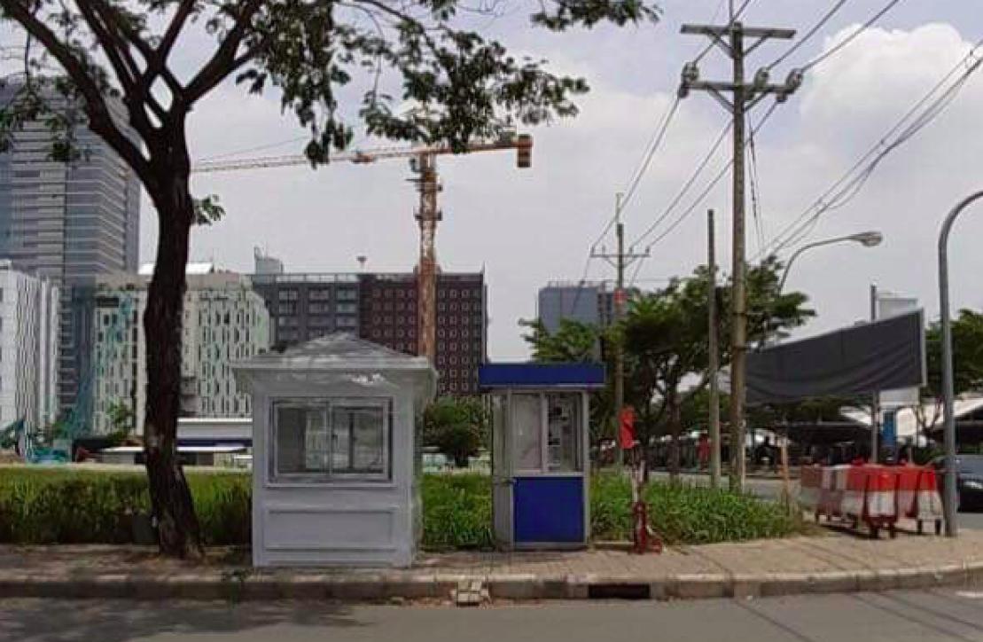 Chốt bảo vệ cao cấp Vinacabin được dùng tại các khu đô thị mới
