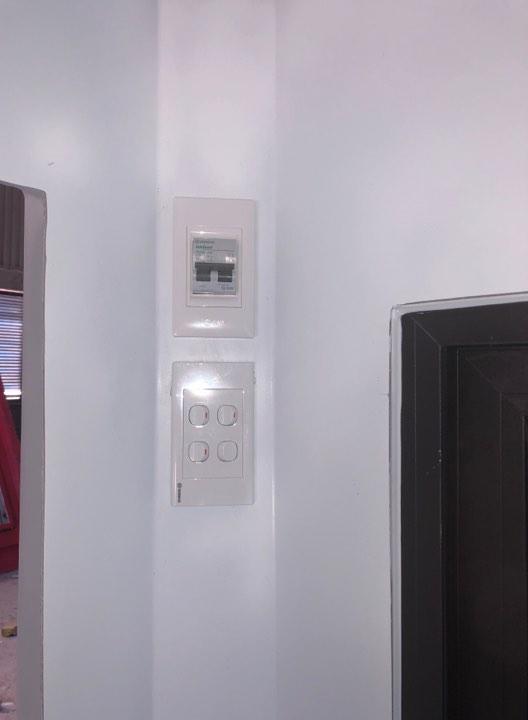 Hệ thống điện âm tường có atomat tổng an toàn cho cả hệ thống
