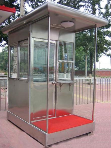 Booth bảo vệ bằng inox